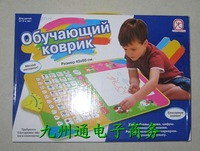 Best selling!! Russian game blanket Russian letters cognitive mat toys Free shipping 1 pcs