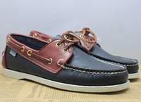 NEW 2013 men's boat shoes,genuine leather,comfortable,Classical design,loafers,moccasins,brand sneakers for men