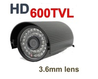 "CCTV  600TVL 1/3"" Sony CCD 36LED Outdoor Security  512(H)x582(V) IP66 HD IR Waterproof   Camera"