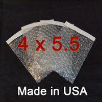 Free shipping  600pcs/lot 4x5.5  Self-Seal Bubble Out Pouch Bag shipping envelope bag