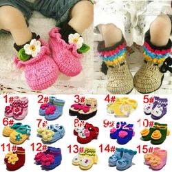Crochet Baby Booties For Sale