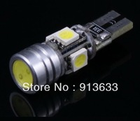 In stock 20 pcs T10 W5W 194 168 2825 2821 Car White 4 SMD 5050 & 1.5W LED Light Bulbs DC 12V