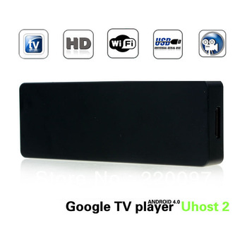 Dual Core Android TV Box Mini PC RK3066 1.6GHz 1G RAM 4G ROM with Bluetooth/Skype/XBMC Black Android TV dongle media player