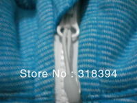 ship by air post : yoga hoodies lululemon Scuba Hoodie blue size:2
