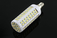 Hot E14 112 SMD 3528 LED Corn Bulb Lamp Warm White 5.5W 200V-230V