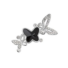 Fshion brooch Ruili paragraph Austria Crystal honey butterfly brooch jewelry     FREE SHIPPING