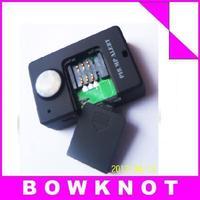 a9 free shipping Wireless PIR Sensor Motion Detector GSM Alarm System Alert Monitor Remote Control 2pcs/lot