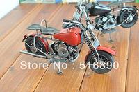 Free shipping!Metal Motorcycle Model Retro Motobike Desktop Decoration Gift