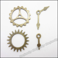 Mix 200pcs Vintage Charms Bell Fitting Pendant Antique bronze Zinc Alloy Fit Bracelet Necklace DIY Metal Jewelry Findings