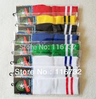 free shipping good quality cotton soccer socks for kids children training football stockings students knee length socks