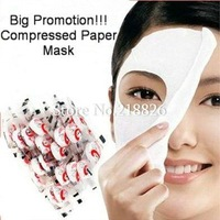 Free Shipping wholesale Skin Face Care/facial mask/mask face, DIY Facial Paper Compress Masque Mask,100pcs/lot