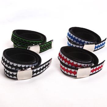 Mirror military buckle belt male canvas belt accessories strap male belt