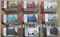 free shipping Wireless bluetooth controller joystick gamepad for sony psIII