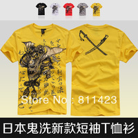 T-shirt men's clothing 2013 summer personalized short-sleeve T-shirt trend