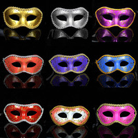 masquerade costume party new year christmas halloween dance women sexy mix face mask venetian masks free shipping promotion
