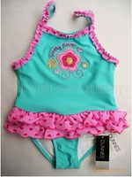2014 Summer children swimwear girls swimming wear hot selling swimwear the Fame swimwear retail