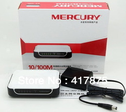 Mercury S105M 5 network interface cable Network hubs network switches Free Shipping(China (Mainland))