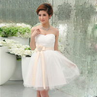 WAG--The spring stars on the same shall toast the bride short paragraph wedding dress sisters serving bridesmaid skirt bandage d