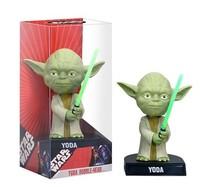 star wars yoda bobble head figure model New In Box