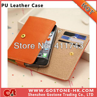 High Quality Wallet Flip Case for Sony Xperia TX LT29i Leather Case Cover, Free Shipping