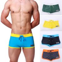 Men's Boxer Fashion Swimming Trunks Pants w/Front Tie Swimwear DESMIIT Pattern SL00189
