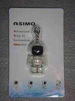 """RARE Japan Honda Asimo Robot Mini Key Chain Figure 4cm 1.6"""""""