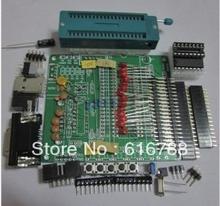 1pcs DIY the learning board kit suit the parts 51/AVR microcontroller development board learning board STC89C52 ,free shipping