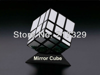 100 PCs Mirror Magic Cube Best Gift  Talent  Logic Toy Game Puzzle Classic Mind Twist Square, Retail Wholesales, Fast shipping