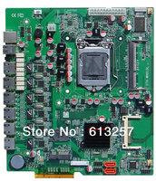 H61SL 6 LAN H61 Mini ITX Motherboard For 6 LAN Ports