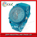 R146LB  Free shipping  2013 Hot sale Fashion Watch Silicone Band Alloy Case  With Big Face  Sport Watches