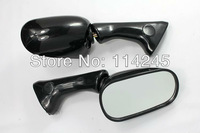 Motorcycle Mirrors Rearview Mirror For Honda CBR900RR 93-97 VFR 750F 1994 Black motorcycle parts