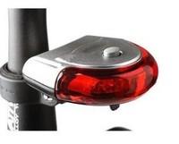 Bike Saddle Warnning Lamp Bicycle Safety Flashing 5 LED Night UFO Rear Tail Light Cycling Electric Flashlight