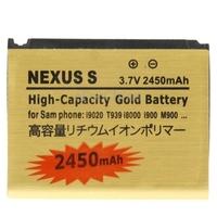 2450mAh High Capacity Golden Sticker Cell Phone  Battery for Samsung Galaxy Nexus S / i9020 / T939 / i8000 / i900 / M900