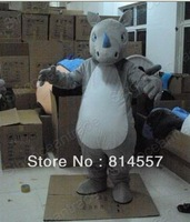 Rhino Rhinoceros   Mascot Costume Halloween gift costume characters sex dress hot sale