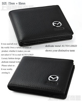 driving license Credit Card Bag wallet For Mazda M2 3 5 6 RX-7 RX-8