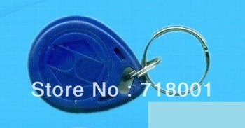 Free Shipping RFID Proximity ID Token Tag Key ring 125KHz RFID card
