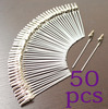 lot 50pc DIY craft new wire clip card&note&picture&photo&memo holder clips,wholesale steel alligator clamp,clay&cake Accessories