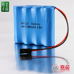 4.8v 1100mah nickel cadmium battery model aircraft battery rechargeable battery s923(China (Mainland))