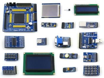 Ep3c16 altera fpga development board learning board 3 18b20 16 lcd module