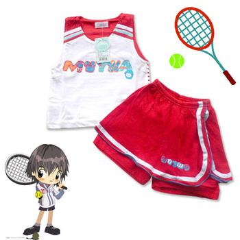 Children's clothing 2561 child set sports tennis twinset