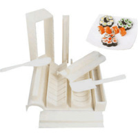 Sushi device diy mould making tools kit rice balls porphyrilic omlet piece set