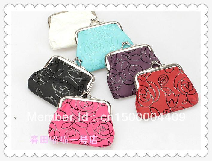 Монетница 12pcs/lot NewFashion 6colors 6colors fashion 100