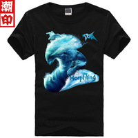 free shipping Dota t-shirt water dotat dota short-sleeve clothes male