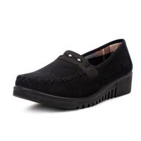 Cotton-made 2012 women's beijing shoes women's shoes flat heel single shoes quinquagenarian 29147 mother shoes