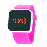 Electronic watch watches for women jelly table lovers watch girl fashion table