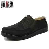Cotton-made beijing shoes soft breathable comfortable slip-resistant outsole shoes men's light casual shoes