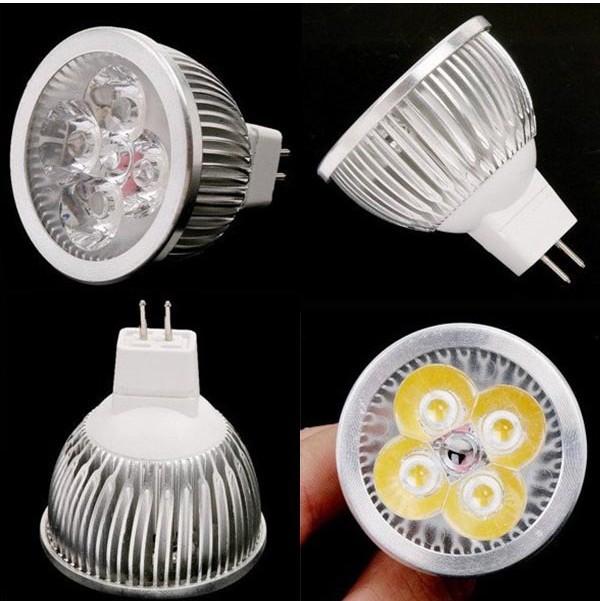 free shipping LED Spot light 4W MR16 led lamp 12V White LED bulb Lamp led lighting(China (Mainland))
