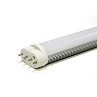 Free shipping by Fedex,High Quality High bright Epistar 18W 2G11 LED Tube