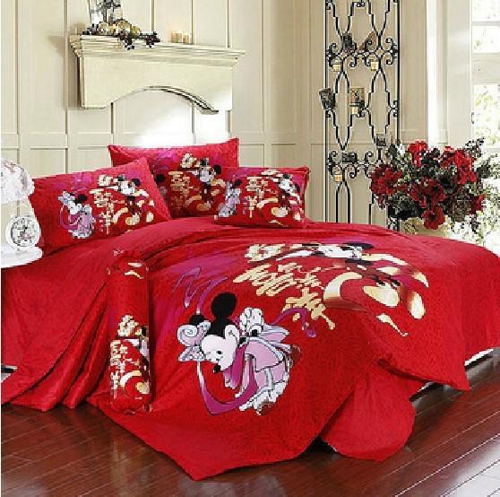 lenzuola matrimoniali di minnie e topolino