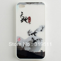 PISEN ink for iphone 4 phone case for iphone 4 s phone case for apple 4